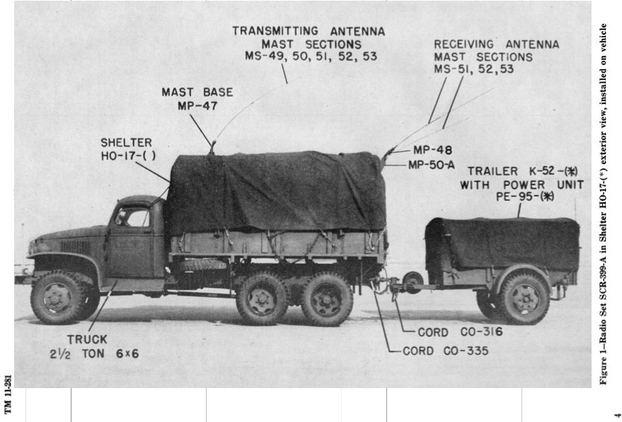 SCR-399-A in shelter HO-17, TRAILER K-52 with power unit PE-95.jpg